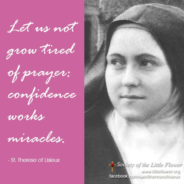 Photo detail of St. Therese of Lisieux in a group shot at Le Carmel monastery.