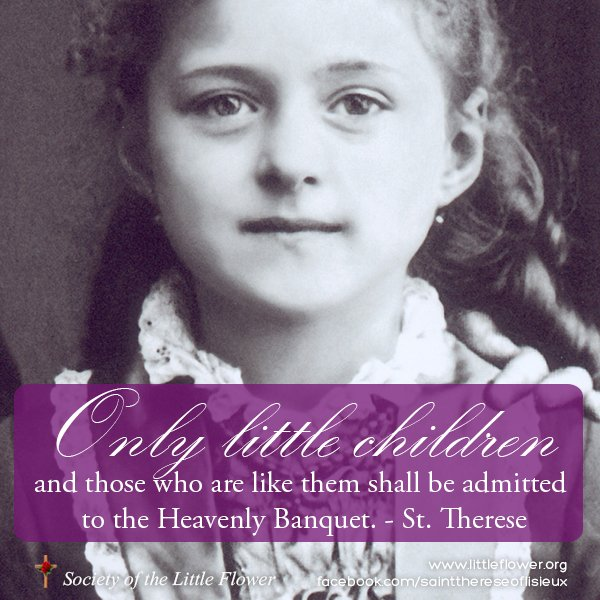 St. Therese at age 8.