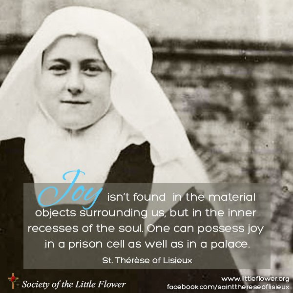 St. Therese as a novice