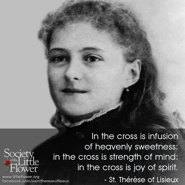 Photo of St. Therese as a young girl