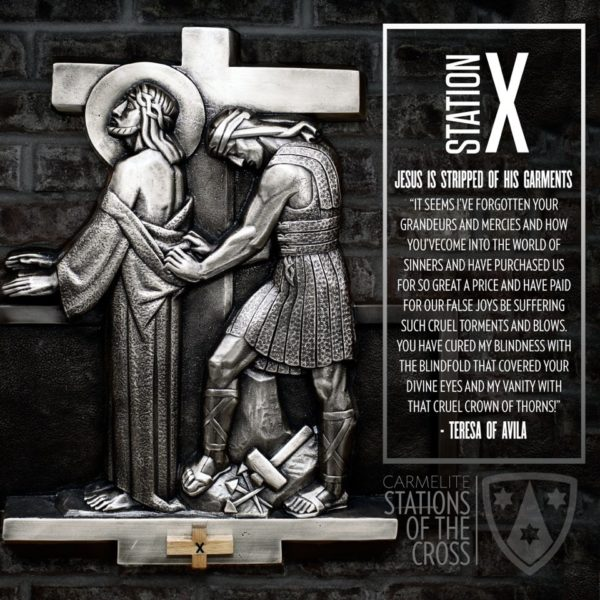 Stations of the Cross: Station Ten