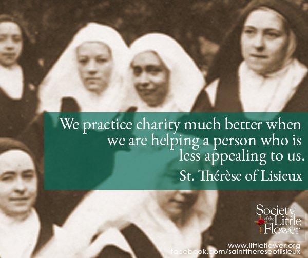 Practice charity