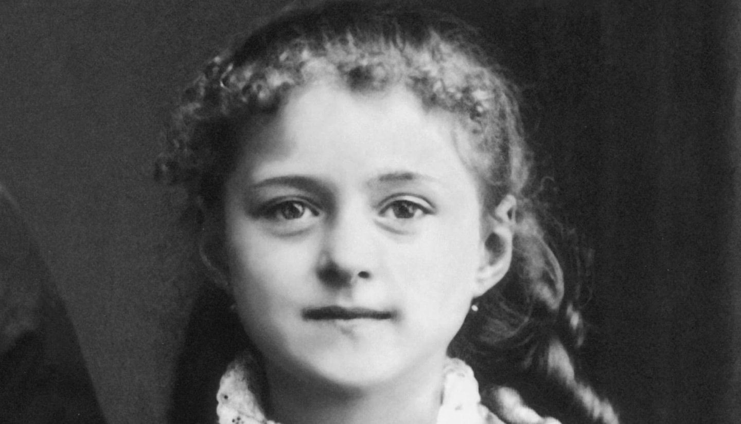 St. Therese, at age 8