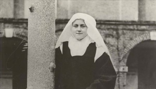 St therese as a novice