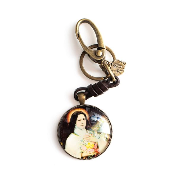 St. Therese Keychain
