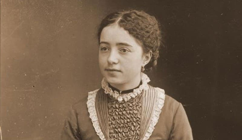 Therese's sister, Marie Martin, as a girl.