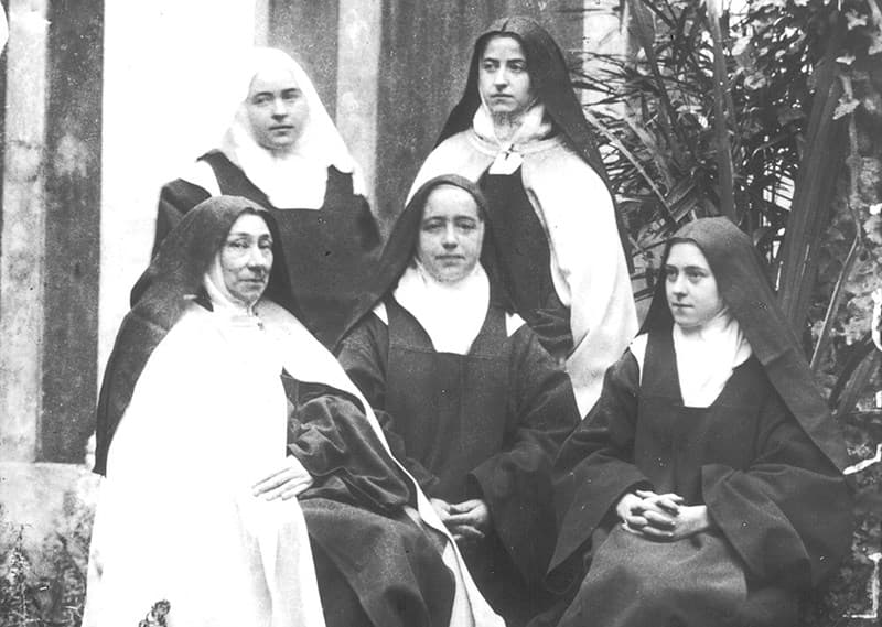 St. Therese and her sisters at Lisieux