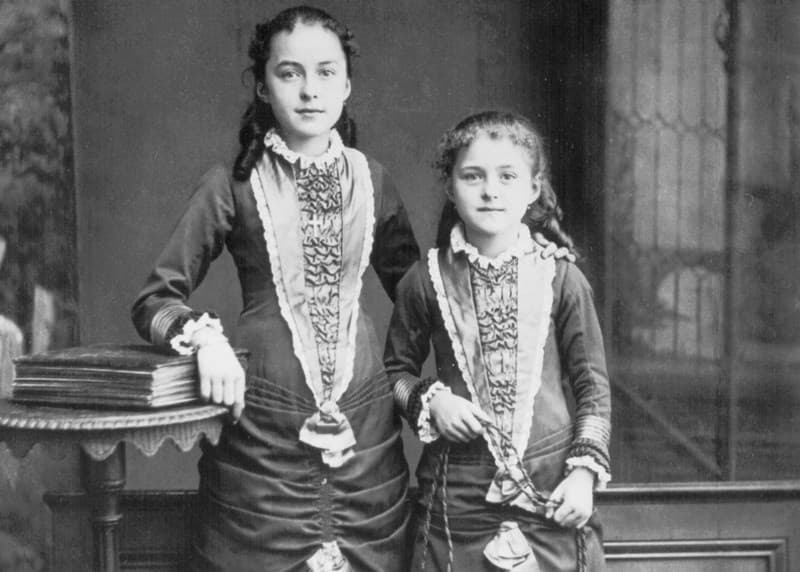 Celine and Therese Martin